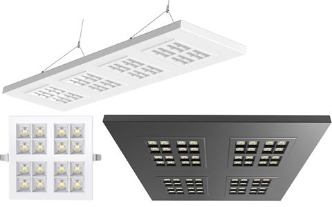LUXOR LICHT introduceert de CARRÉ LED serie